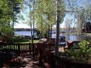 View of Rainbow Lake from our deck. - Pinetop house vacation rental photo