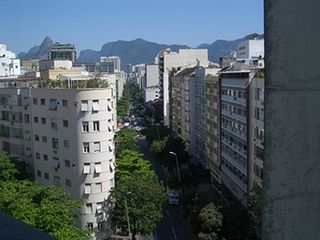 Ipanema apartment photo - view on Ipanema from kitchen