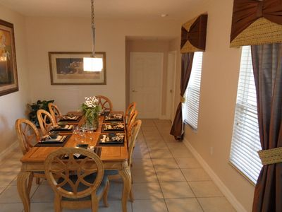 Formosa Gardens villa rental - Formal Dining Room Seating 8