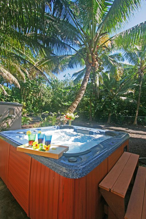 Relax in your private Jacuzzi.
