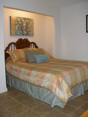 Osage Beach house photo - Queen sz. Bed in lower family room.