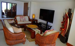 Puerto Vallarta condo photo - Living Room w/ large flat screen TV