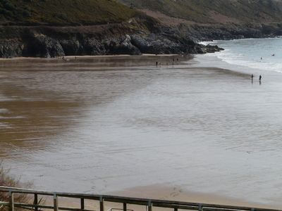 Swansea - Gower Peninsula apartment rental - the beach with the tide out