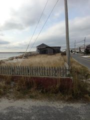 Yarmouth cottage photo - House,beach, ocean, truly an Oceanfront vacation!Ocean left, s shore dr.on right
