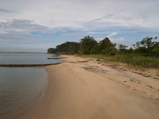 Deltaville cottage photo - Private Beach on the Rappahannock River