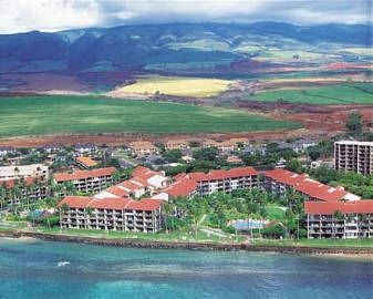 Aerial view of the beautiful Papakea Resort