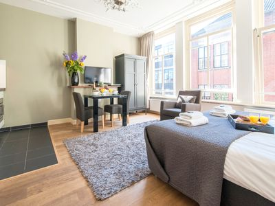 Cozy and modern decorated first floor studio apartment for two pers...