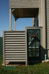 outside shower hot & cold H2O - Block Island house vacation rental photo