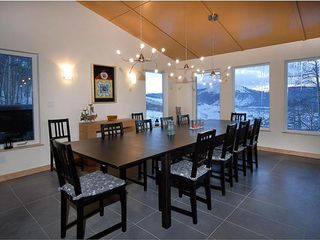 Crested Butte house photo - dining area