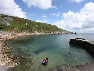 Lamorna slipway and harbour