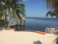 Bayfront Cottage With Dock And Chiki. Sunsets And So Much More. This Is The One!