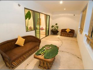 Playa del Carmen condo photo - comfortable sitting area in your private terrace