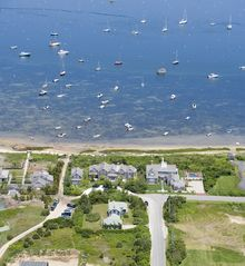 Monomoy house photo - Aerial view of home