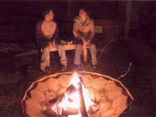 Pagosa Springs cabin photo - Firepit Fun