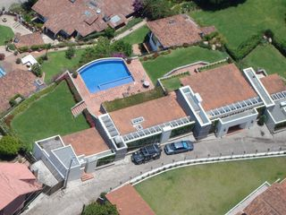 Valle de Bravo villa photo - Photo taken by paraglider passing overhead