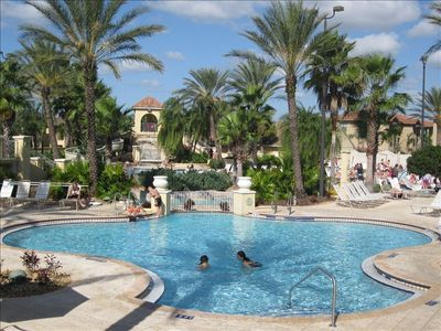 Regal Palms townhome rental - Pool