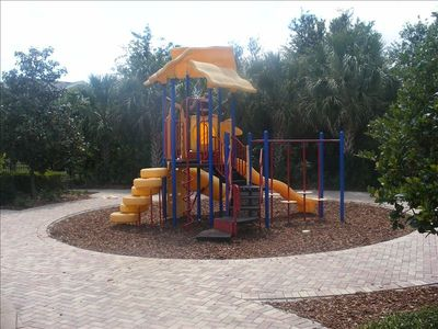 Kids' playground area