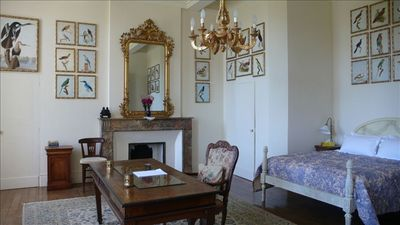 Le Fousseret chateau / country house rental - Chambre Madame