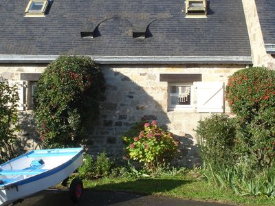 Rent at the edge of the water, Gulf of Morbihan, Larmor Baden