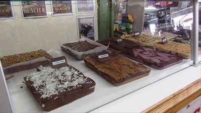 Fresh Fudge available at The Glacier Park Trading Company.