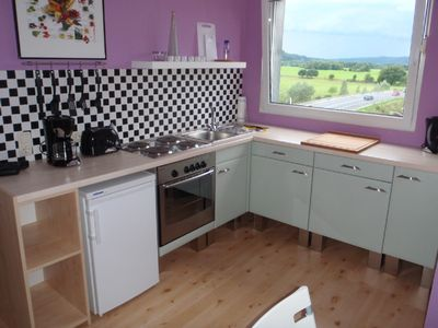 Bochum apartment rental - Fully-equipped kitchen in 'ReiseTRaum'