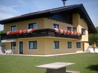 Family u. pet-friendly apartments, overlooking Lake Wörthersee / mountains / Carinthia