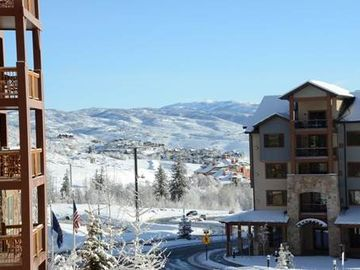 Park City hotel rental - View from balcony