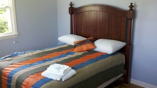 Old Saybrook house photo - First floor bedroom with Queen Bed