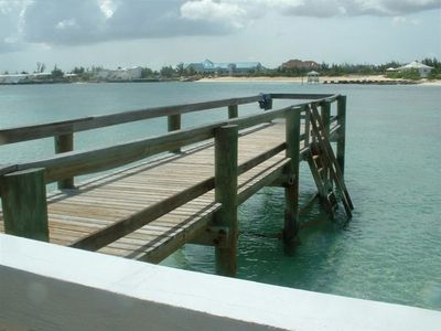 Nassau & Paradise Island townhome rental - pier near the 2nd pool