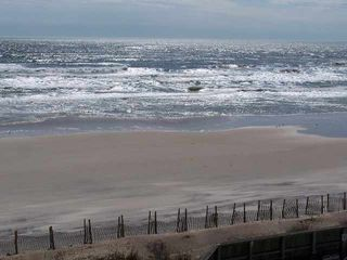North Topsail Beach condo photo - This is the view from the balcony of the condo!