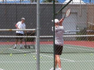 Great Tennis club across Alii Drive