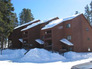 Fraser condo photo - Exterior of Indian Peaks in the Winter