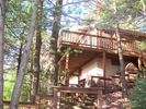 2 Level secluded cabin with the best Blue Mountain View in the Poconos! - Jim Thorpe cabin vacation rental photo