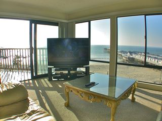 San Diego condo photo - SIT DOWN VIEW OF OCEAN ETC.