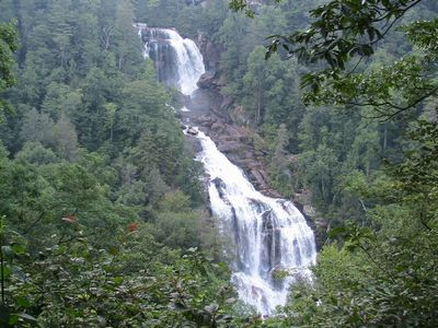 Spectacular Waterfalls in area