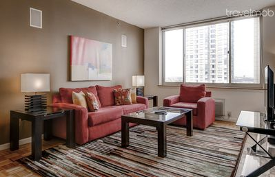Lux 2BR at Newport Jersey City +Gym+WiFi