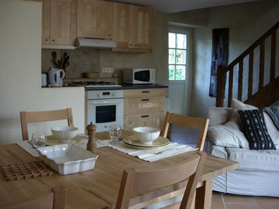 Cottage situated in quiet hamlet deep in countryside but only 4km from the sea.