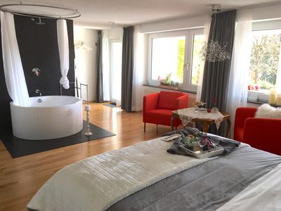 2 modern and exclusive apartments with pool, at the national park Eifel - Pool Suite, modern
