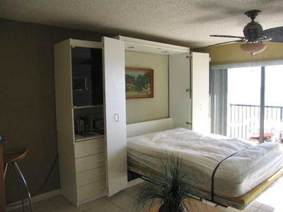 Living Room with Murphy bed