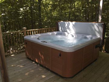 Hot Tub... great for apres ski!