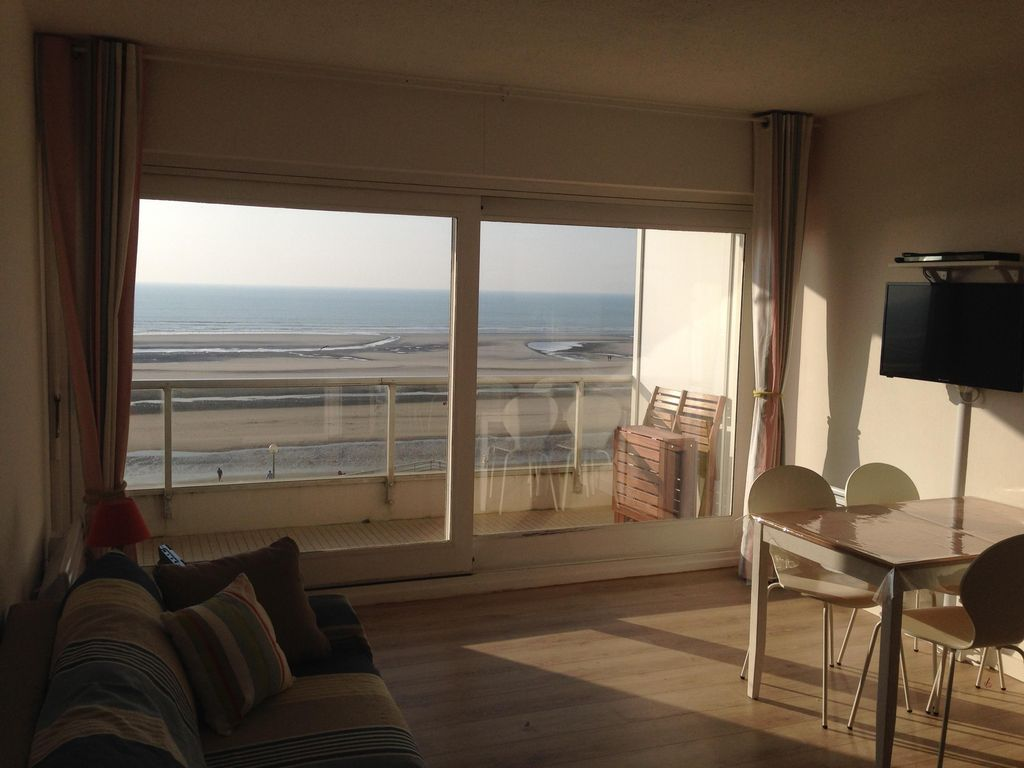 Holiday apartment, 33 square meters , Hardelot, France