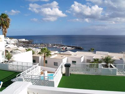 Spectacular sea views, overlooking the harbour.