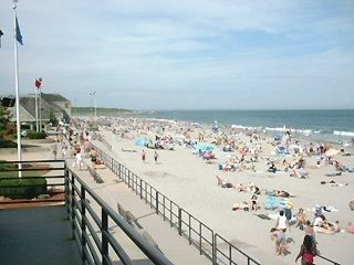Scarborough Beach house photo - Scarboro State Beach, boardwalk, concessions, bathouse, viewing tower
