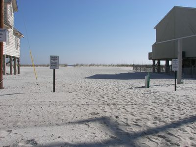 Sea Oats has its own beach access to the gulf
