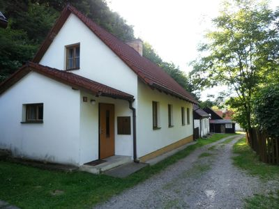 Holiday house kayak 50 meters from the river Berounka