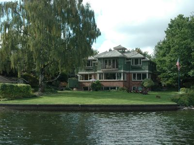 View of property from the lake