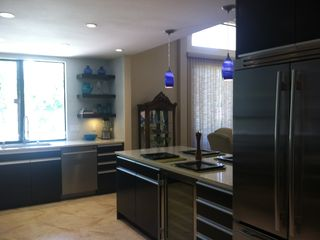 Indian Wells house photo - Right side of kitchen with wine cooler.