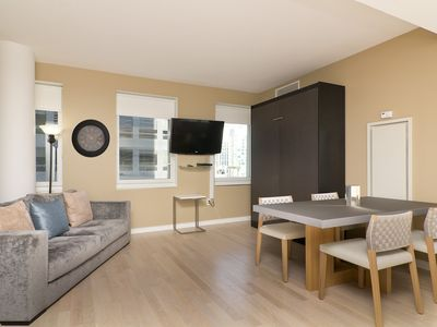 Theater District apartment rental - 8260C - 1 Bed - Sleeps 6 - Living Room