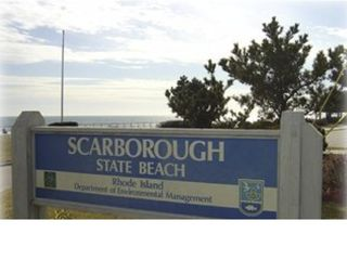 Scarborough Beach house photo - Scarborough State Beach Sign... closest beach...