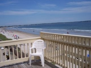 Old Orchard Beach apartment photo - Beach views from every deck.
